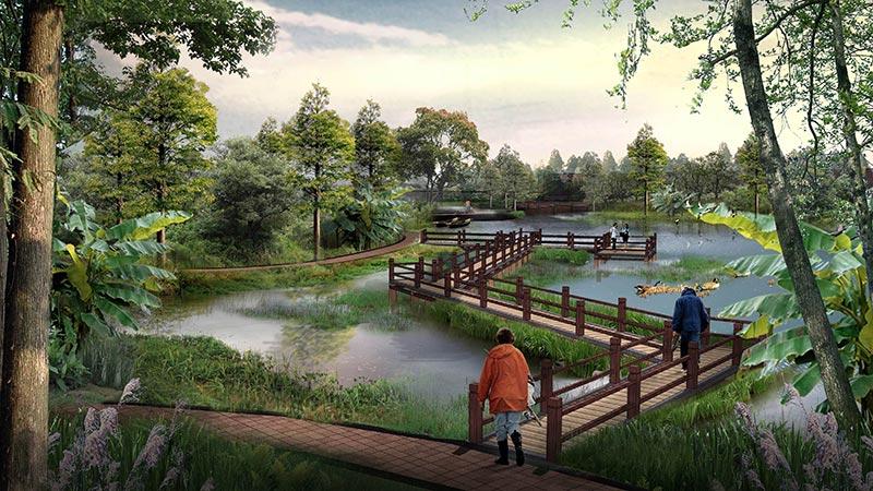 浅谈建科园林景观设计的功能