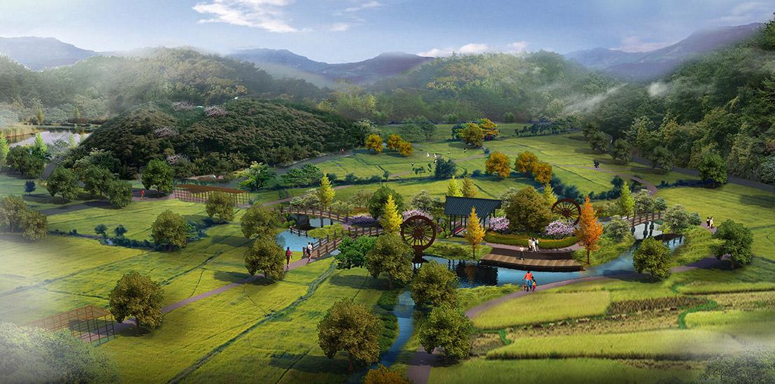 乡村旅游景区设计图片