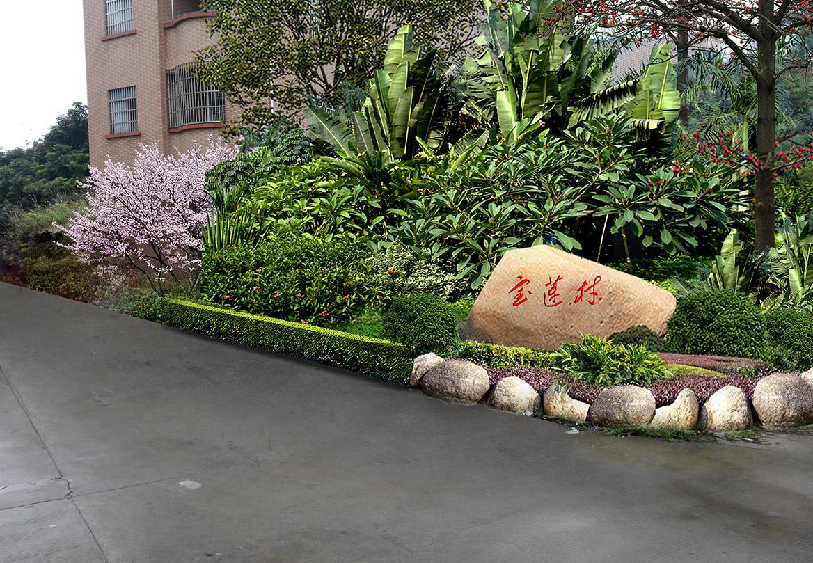 高埗镇宝莲村美丽幸福村居设计方案实施效果9