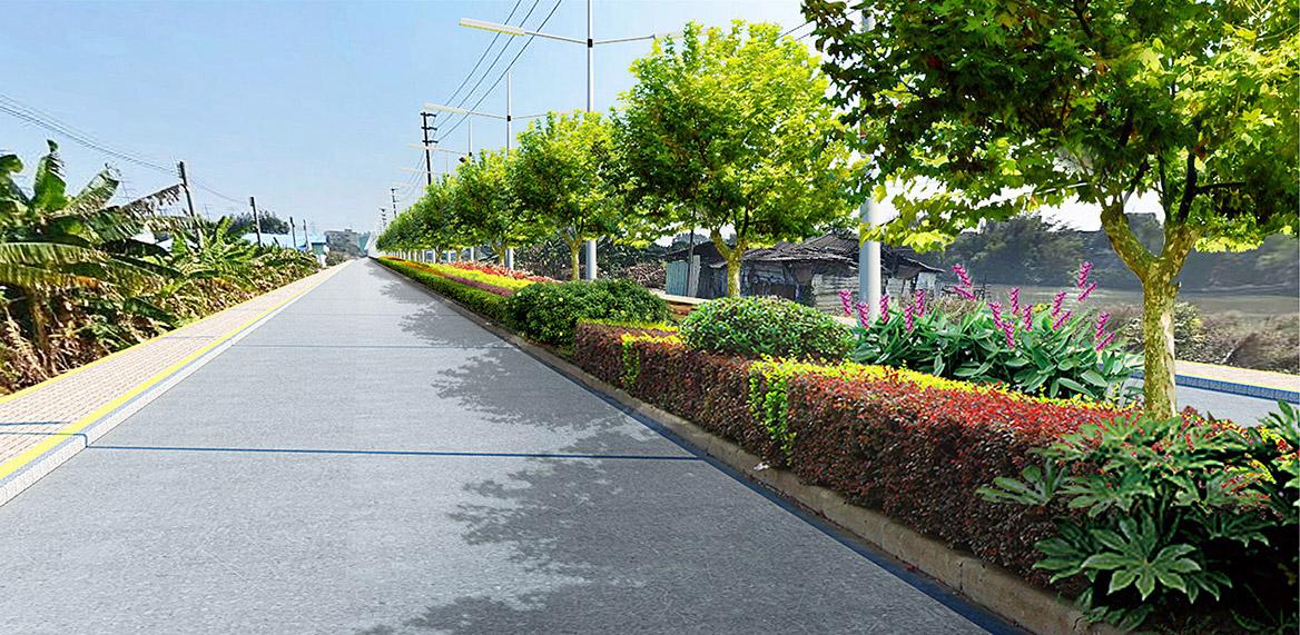 高埗镇宝莲村美丽幸福村居设计方案实施效果11