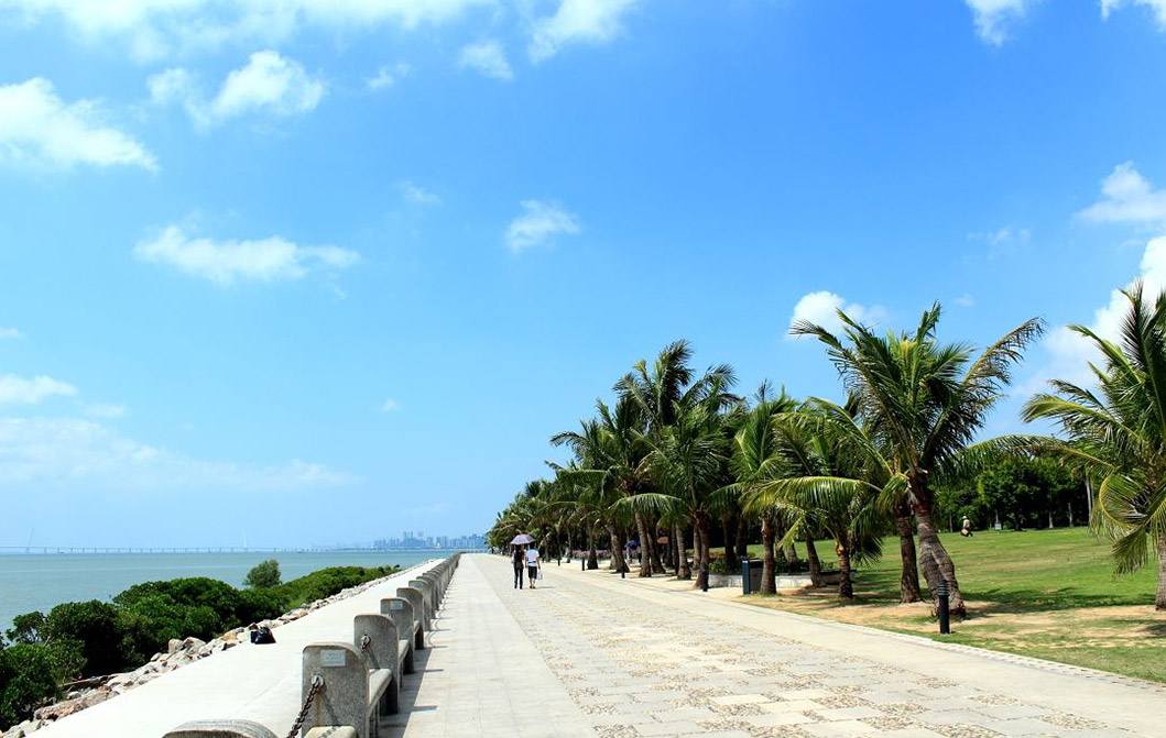 滨海公园景观设计图片