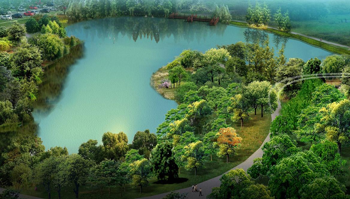 洪梅站前绿化公园景观设计图片9