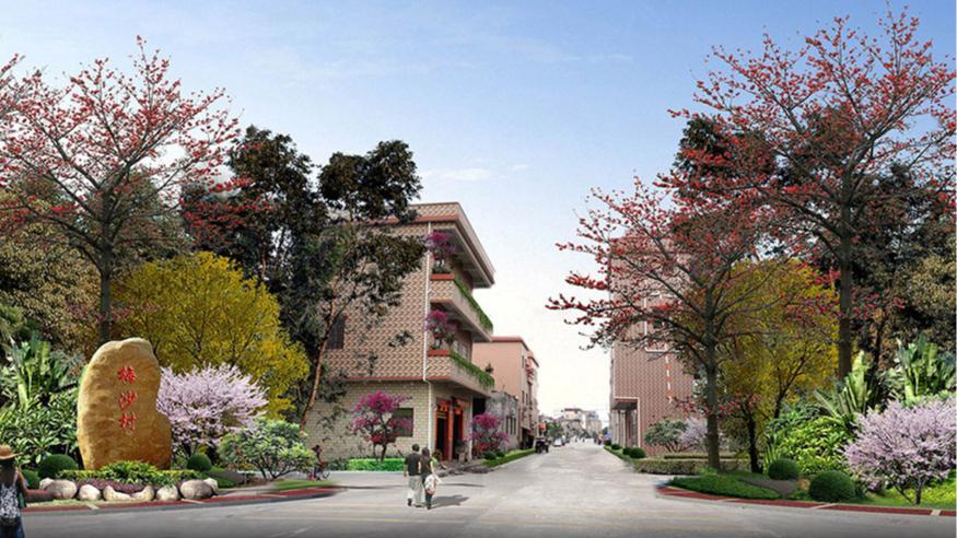 洪梅镇梅沙村特色村庄塑造工程项目整体规划