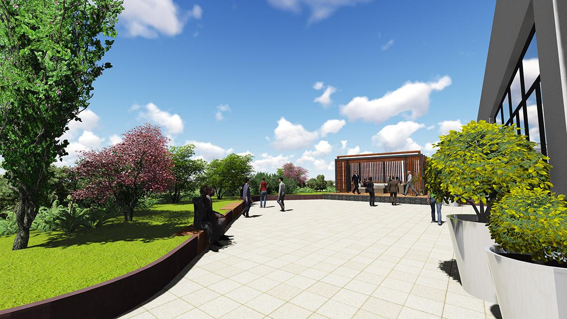 林氏木业工业家居4.0景观设计图2