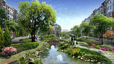 住宅小区景观设计需考虑环境及社会效益