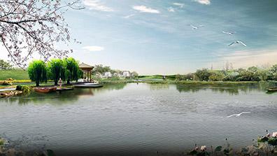 现代园林水景设计需要汲取古典园林的神韵