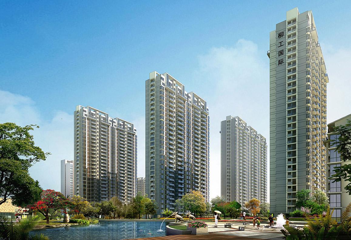 住宅区景观设计图片