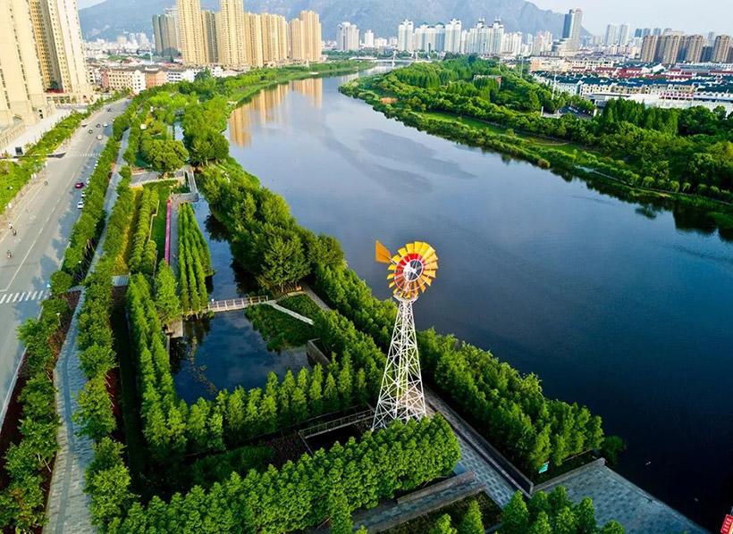城市河道景观设计图片