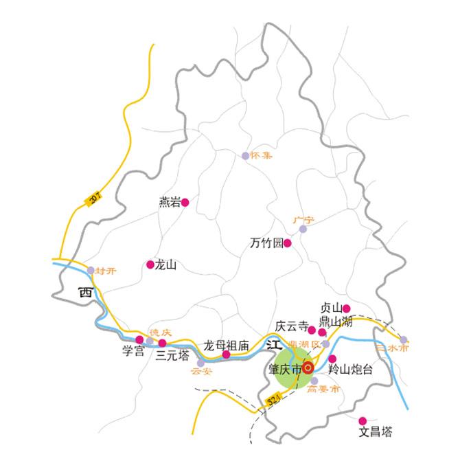 龙母祖庙风景旅游区规划设计项目地块说明