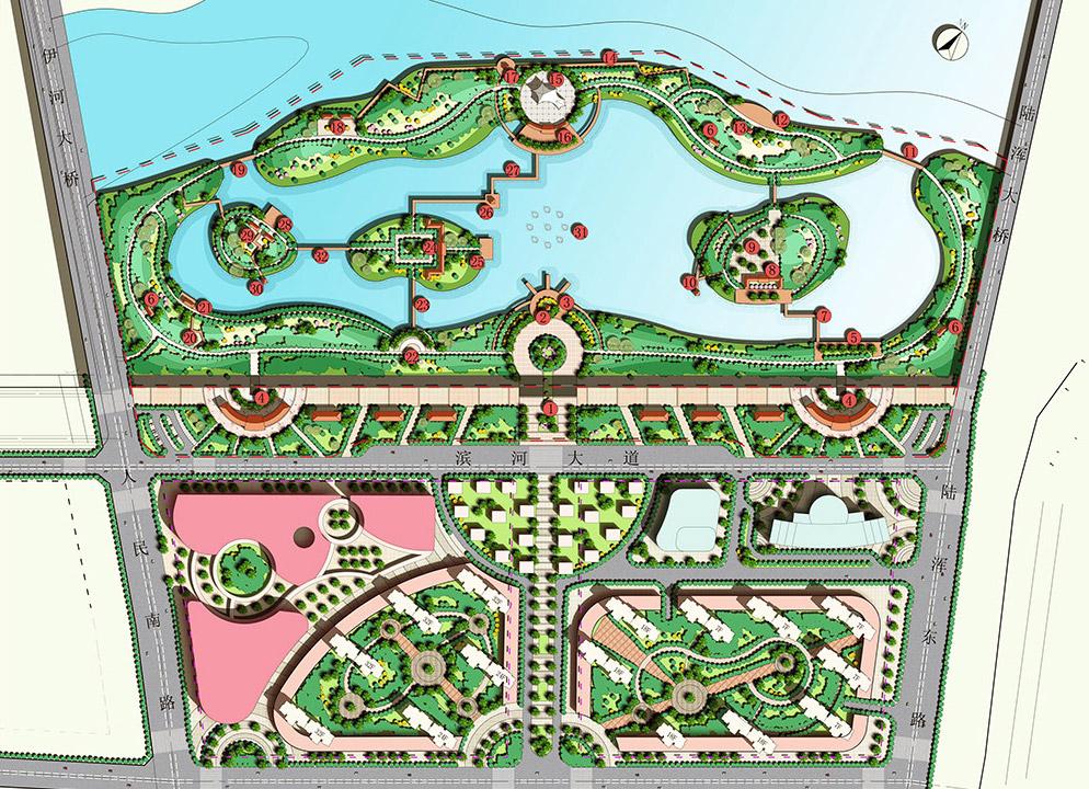 湿地公园规划设计图片