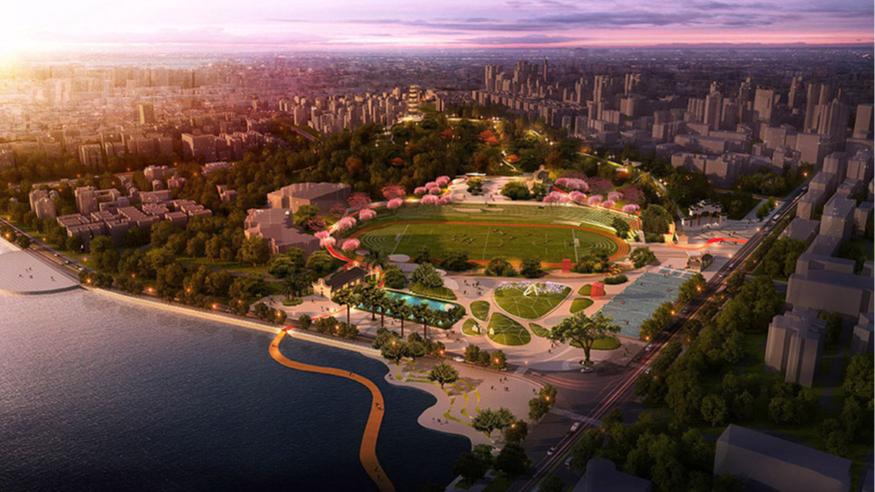 东莞市桥头镇体育文化公园规划设计